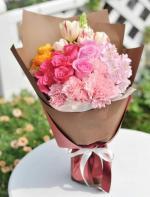 Tổng hợp 20+ bó hoa, lãng hoa 20/11 đẹp trang trọng nhất tặng thầy cô - 3