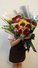 Tổng hợp 20+ bó hoa, lãng hoa 20/11 đẹp trang trọng nhất tặng thầy cô - 17