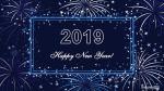 Bộ hình nền năm mới 2019 với những câu chúc vô cùng độc đáo