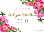 Thiệp 20/11 đẹp - Bộ thiệp chúc mừng ngày nhà giáo Việt Nam mới nhất - 8