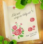 Thiệp 20/11 đẹp - Bộ thiệp chúc mừng ngày nhà giáo Việt Nam mới nhất - 7