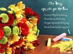Thiệp 20/11 đẹp - Bộ thiệp chúc mừng ngày nhà giáo Việt Nam mới nhất - 6