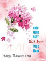Thiệp 20/11 đẹp - Bộ thiệp chúc mừng ngày nhà giáo Việt Nam mới nhất - 5
