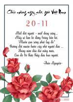 Thiệp 20/11 đẹp - Bộ thiệp chúc mừng ngày nhà giáo Việt Nam mới nhất - 1