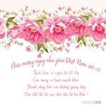 Thiệp 20/11 đẹp - Bộ thiệp chúc mừng ngày nhà giáo Việt Nam mới nhất - 15