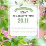 Thiệp 20/11 đẹp - Bộ thiệp chúc mừng ngày nhà giáo Việt Nam mới nhất - 10