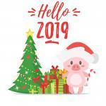 Download hình nền, background giáng sinh và năm mới 2019 đẹp lung linh nhất - 1