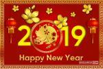 Bộ thiệp chúc tết, thiệp chúc mừng năm mới 2019 đẹp nhất năm