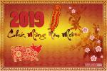 Bộ thiệp chúc tết, thiệp chúc mừng năm mới 2019 đẹp nhất năm- Thiệp chúc tết 8