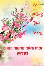 Hình ảnh chúc tết 2019 đẹp lung linh nhất - 1