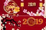 Chia sẻ ảnh bìa, cover facebook đón Tết Kỷ Hợi 2019 đẹp mới nhất