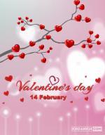 Thiệp valentine lãng mạn, đẹp nhất cho lễ tình nhân 14/2 - Thiệp 3