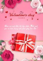 Thiệp valentine lãng mạn, đẹp nhất cho lễ tình nhân 14/2 - Thiệp 2