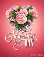 Thiệp valentine lãng mạn, đẹp nhất cho lễ tình nhân 14/2 - Thiệp 1