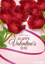 Thiệp valentine lãng mạn, đẹp nhất cho lễ tình nhân 14/2 - Thiệp 12