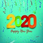 Bộ hình nền chúc mừng năm mới 2020 - Hình 17
