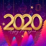 Bộ hình nền chúc mừng năm mới 2020 - Hình 16