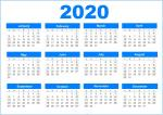 Bộ hình nền lịch 2020 - Hình 4