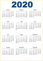 Bộ hình nền lịch 2020 - Hình 3