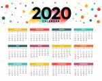 Bộ hình nền lịch 2020 - Hình 15