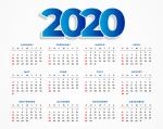 Bộ hình nền lịch 2020 - Hình 8