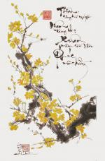 Hình ảnh, hình nền hoa mai đẹp nhất cho ngày tết - Hình 12