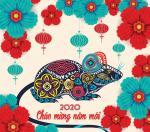 Hình nền chúc mừng năm mới 2020, chúc tết 2020 cực đẹp - Hình 12