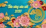 Thiệp năm mới, thiệp chúc tết Canh Tý 2020 đẹp nhất - Hình 3