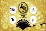 Thiệp năm mới, thiệp chúc tết Canh Tý 2020 đẹp nhất
