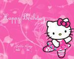 Thiệp chúc mừng sinh nhật Hello Kitty - Hình 7