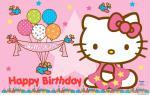 Thiệp chúc mừng sinh nhật Hello Kitty - Hình 3