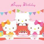 Thiệp chúc mừng sinh nhật Hello Kitty - Hình 13