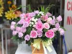 Những lẵng hoa hồng 8/3 đẹp nhất dành tặng ngày Quốc tế phụ nữ 8/3 - Hình ảnh 2