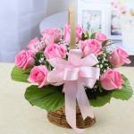 Những lẵng hoa hồng 8/3 đẹp nhất dành tặng ngày Quốc tế phụ nữ 8/3 - Hình ảnh 1