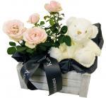 Những lẵng hoa hồng 8/3 đẹp nhất dành tặng ngày Quốc tế phụ nữ 8/3 - Hình ảnh 15