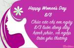 Thiệp chúc mừng ngày Quốc tế phụ nữ Việt Nam - Mẫu thiệp 4