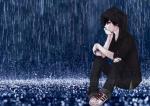 Bộ hình ảnh anime nam buồn đẹp và đầy tâm trạng - Hình 16