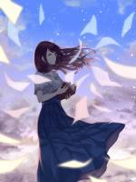 Hình nền anime buồn cho điện thoại của nữ - Hình 12