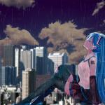 Hình ảnh anime mưa buồn đẹp và tâm trạng nhất - Hình 11