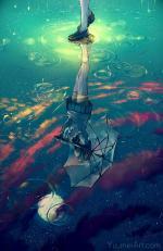 Hình ảnh anime mưa buồn đẹp và tâm trạng nhất - Hình 18