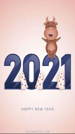 100+ Hình nền chúc tết năm mới 2021 cho điện thoại Full HD - Hình 11