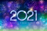 Bộ hình nền pháo hoa chúc mừng năm mới 2021 cho máy tính