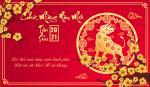 Thiệp chúc tết 2021 - Bộ thiệp chúc mừng năm mới Tân Sửu 2021 cực đẹp - Hình 5